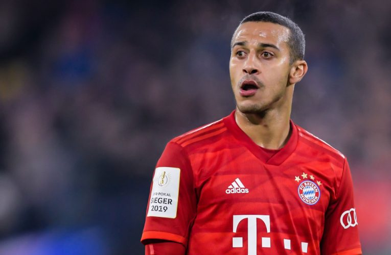 Thiago Alcantara 100% set for Bayern Munich exit