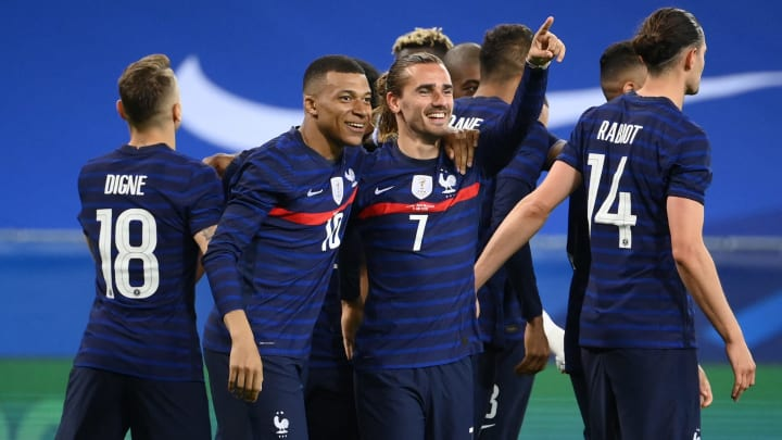 France team in bust-up between star strikers before Euro 2020 commences